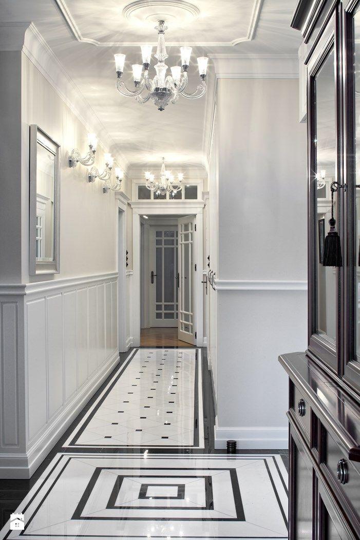 Hol przedpok j styl klasyczny rs studio projektowe for Deco interiors