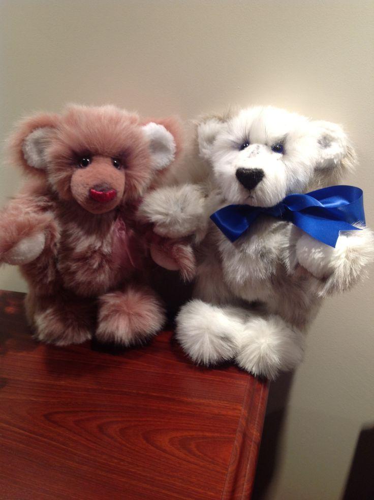 Olgar & Oliver teddies