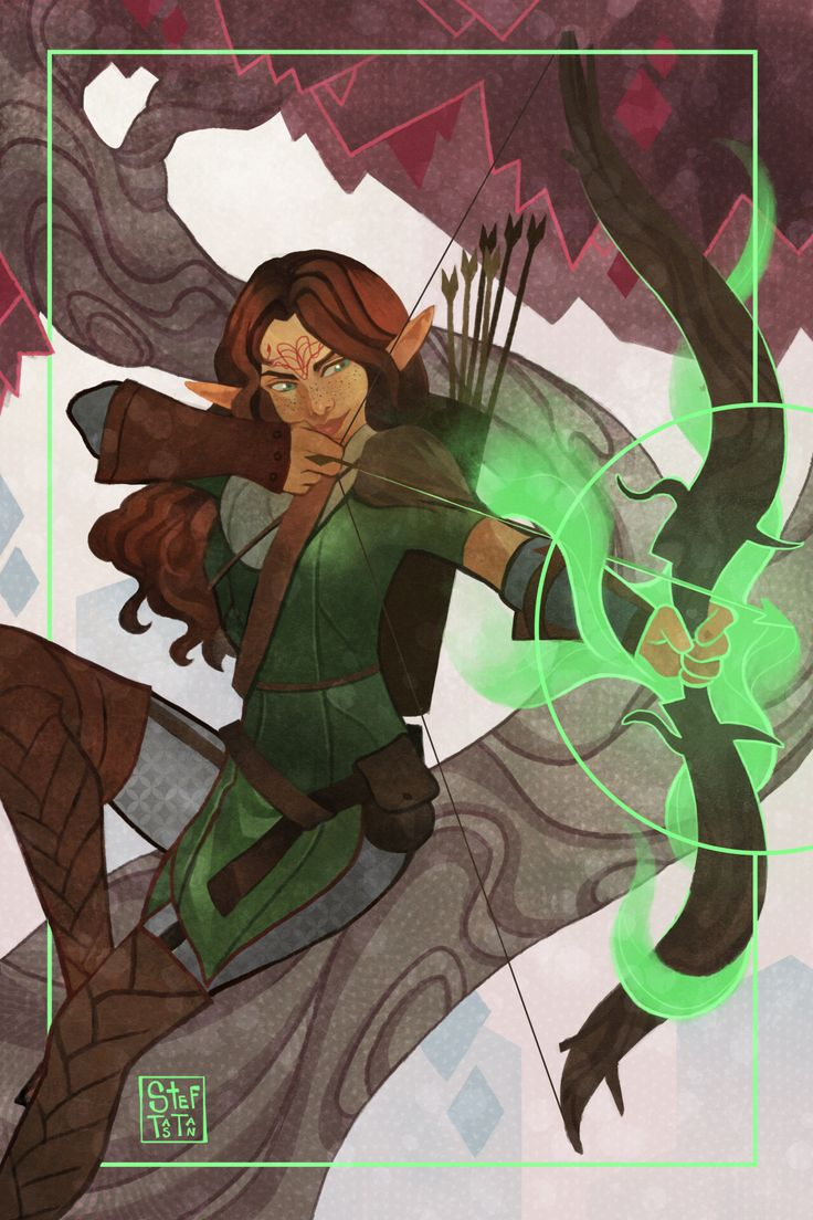 Dragon Age Inquisition Character Design Ideas : Tarot card ioren lavellan by steftastan dragon age