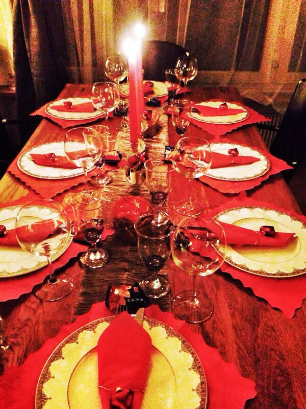 Table Setting for Chinese Lunar Year