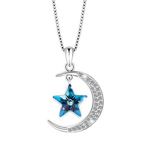 18ct White Gold Plated Butterfly Design Necklace (Gift Pouch Included) Elegant Crystal Jewellery ifh7W