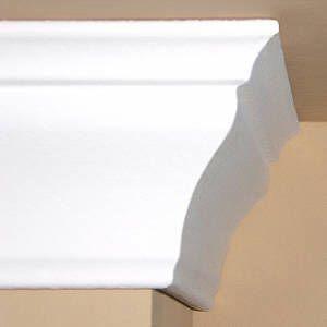 3.5 inch Flat Back, foam crown moldings - Crown Molding Solutions