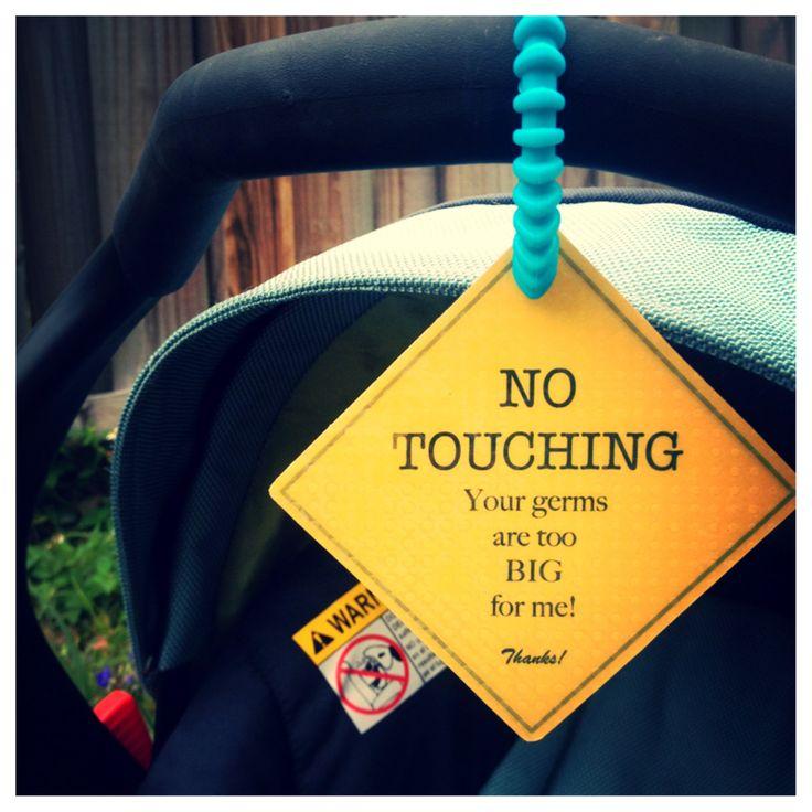 Preemie+Newborn+Infant+Car+Seat+Tag via etsy