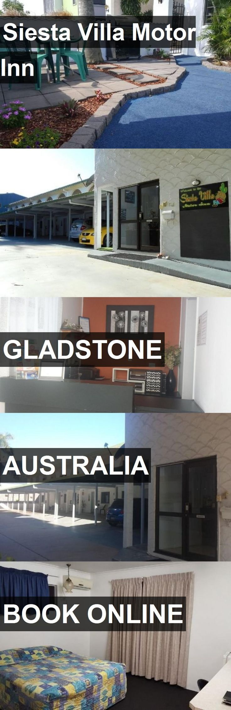 Hotel Siesta Villa Motor Inn in Gladstone, Australia. For more information, photos, reviews and best prices please follow the link. #Australia #Gladstone #travel #vacation #hotel