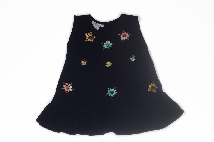 Excited to share the latest addition to my #etsy shop: Kids dress, girl dress, toddler dress, Baby dress, handmade, cotton, crochet floral dress, vintage style, Navy blue dress, Summer dress http://etsy.me/2iAoNxW #clothing #children #dress #flowerdress #kidsdress #babydress #cro