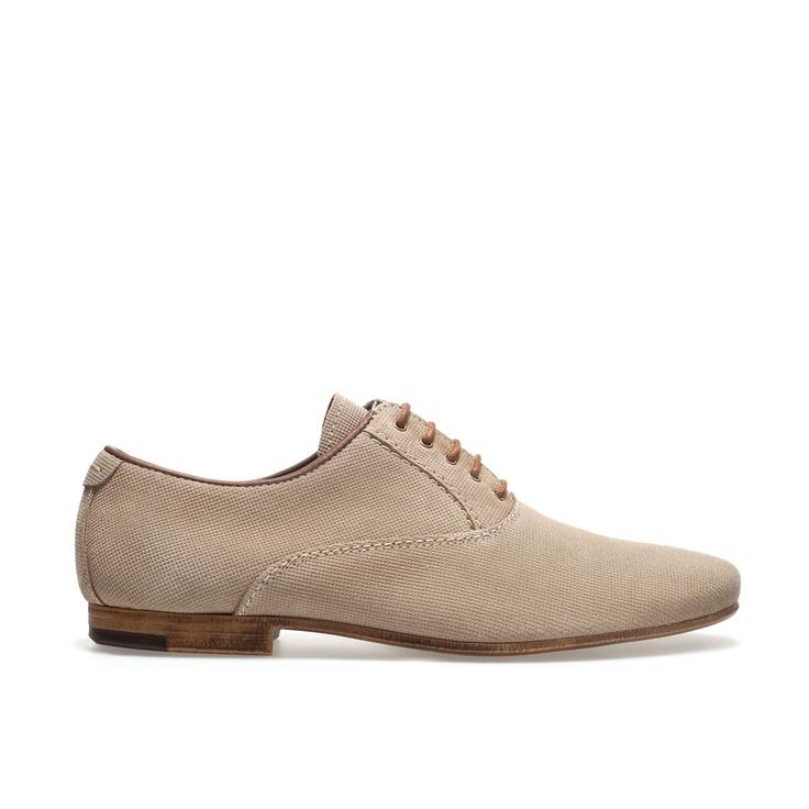 SLIM OXFORD SHOE - Shoes - Man   ZARA United States