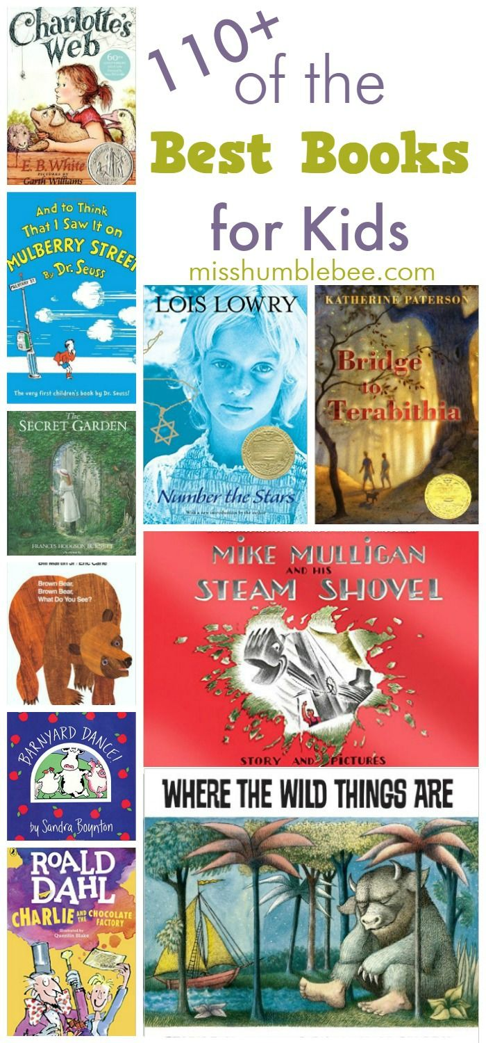 17 best ideas about best books to best books 110 of the best books for kids
