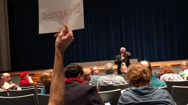 """A Texas congressman told a constituent to """"shut up"""" in a heated moment caught on video.  Rep. Joe Barton, R-Texas, was holding a town hall last weekend in the city of Frost, the Dallas Morning News reported, when a man confronted him about his voting record pertaining to violence against women.  """"Given"""