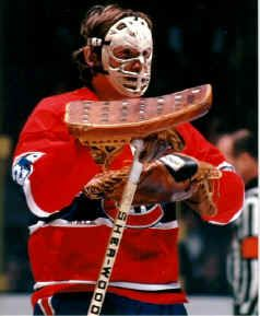 Ken Dryden, goalie for the Montreal Canadians, 6-time Stanley Cup Champion (Cornell University)