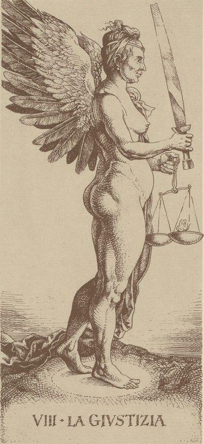 DU89-08 Die Bilder aus dem Tarocchi Dürer werden abgebildet mit freundlicher Erlaubnis von Lo Scarabeo.