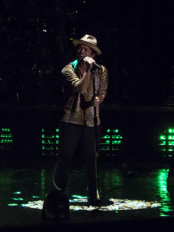 Bruno Mars concert lastnight (: