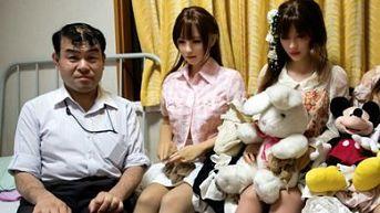 Japoneses encuentran el amor en muñecas de silicona
