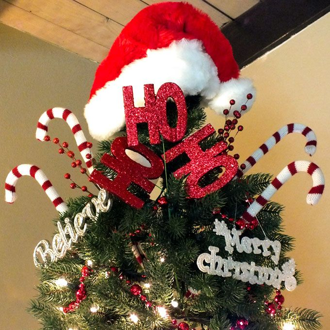 Best tree toppers ideas on pinterest christmas