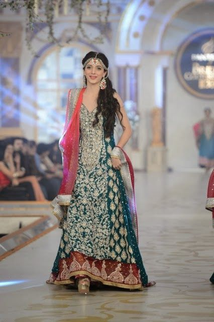 Pakistani Bridal Fashion - Pantene Bridal Couture Week PBCW 2013 - Zainab Chottani