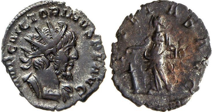 NumisBids: Numismatica Varesi s.a.s. Auction 65, Lot 262 : VITTORINO (268-270) Antoniniano. D/ Busto radiato e corazzato R/...