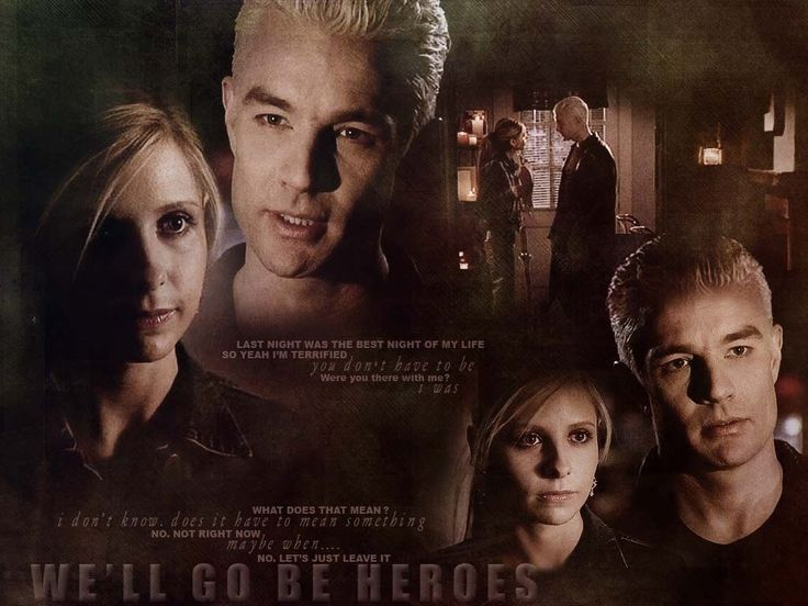 buffy the vampire slayer wallpaper | BUFFY & SPIKE (Buffy the Vampire Slayer) - TV Couples Wallpaper ...