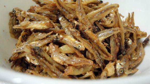 Pan fried Matemba (Kapenta)