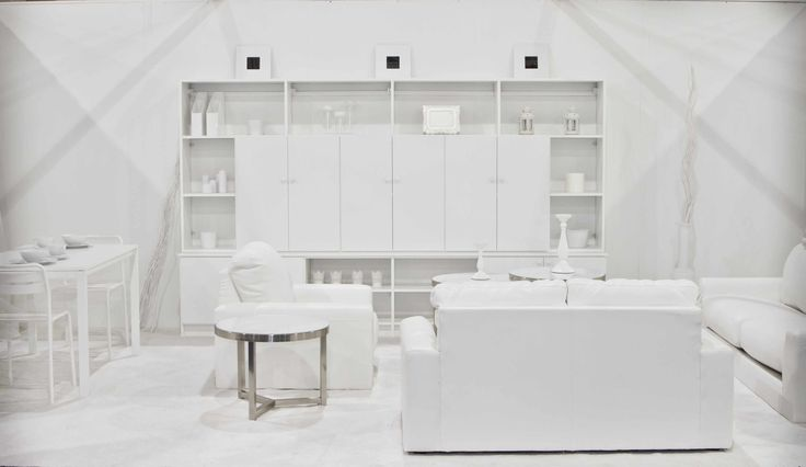 All White And Blue Delight: All White Room - Google Search