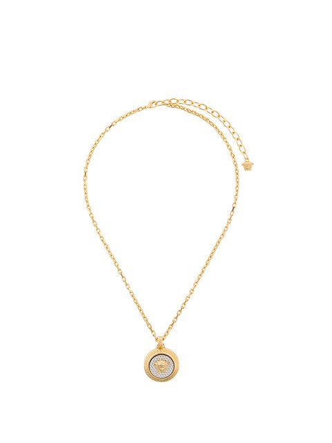 Versace emblem medusa pendant necklace express mozeypictures Gallery