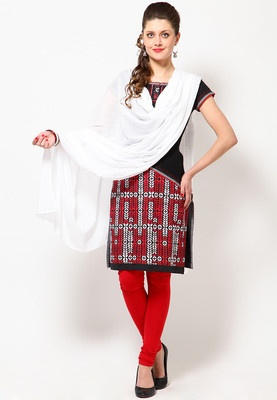 A white coloured dupatta for women from Biba. It is made from 100% cotton. A versatile white coloured dupatta from Biba. A must-have in every woman's ethnic wear collection, this dupatta can go well with most of your ethnic outfits.