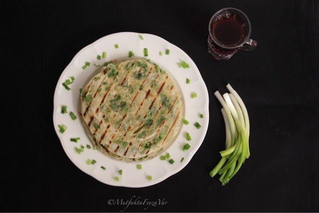 mutfakta Feyza var: Taze Soğanlı Pankek/ Katmer (Çin Mutfağı)