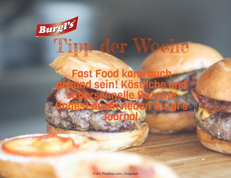 Fast Food Tipps von Burgls! http://burgls.at
