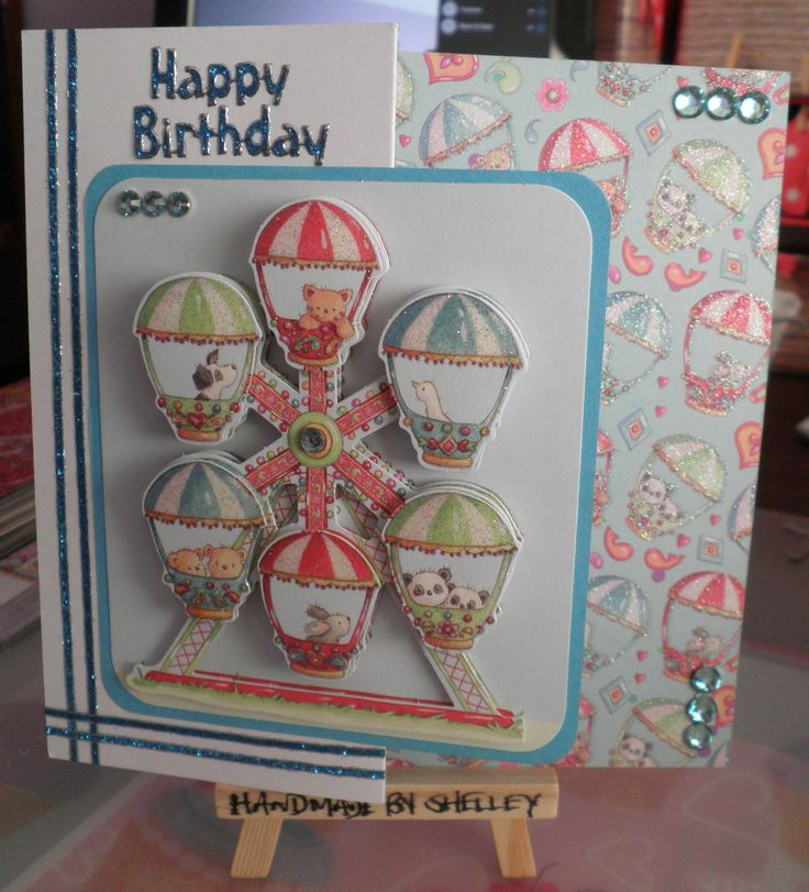 Helz Cuppleditch Fun Fair découpage pad and papers by Trimcraft.