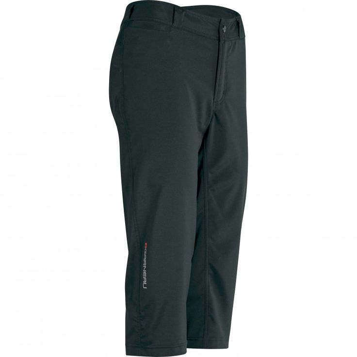 WOMEN'S ACTIVE CYCLING KNICKERS Perfect for mountain biking or a ride to the local coffee shop, the Active Knickers have a removable mesh innershort and ample storage with 1 front pocket, 2 back pockets with zip and flap, and a multimedia player pocket.