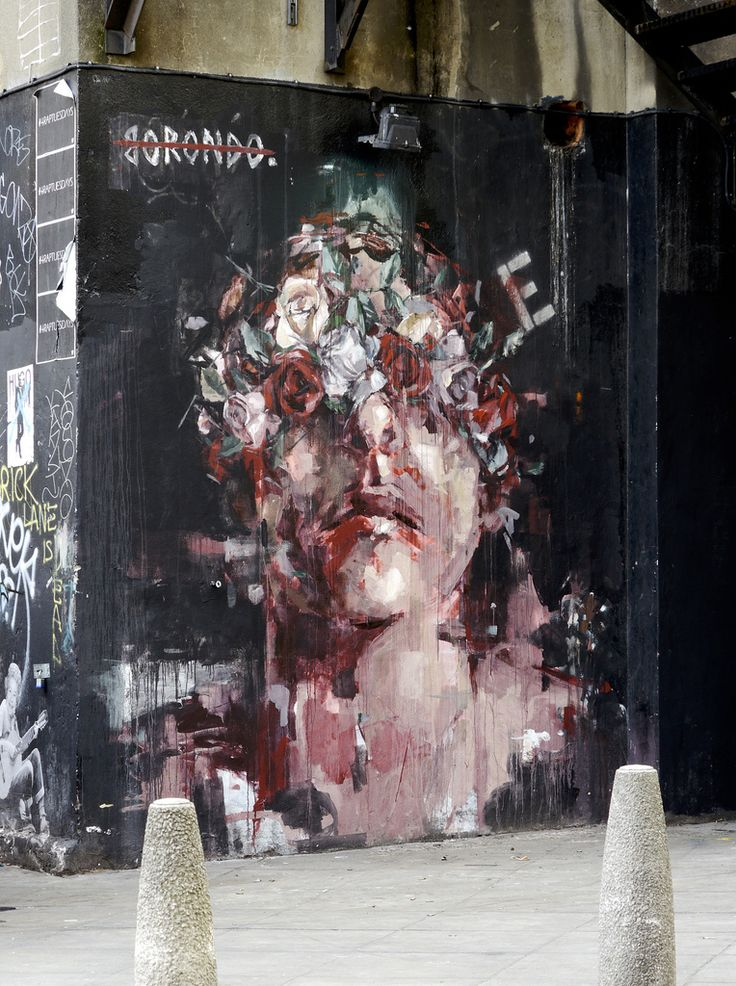 My new favorite street artist. Borondo (photography by Claudelondon)