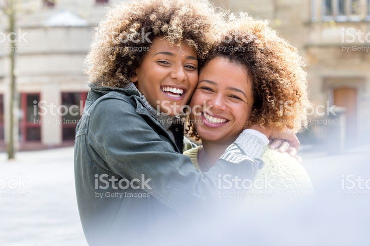 Sisters in the City royalty-free stock photo