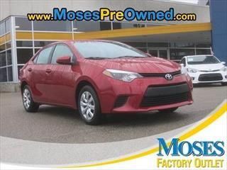 2014 Toyota Corolla LE - Toyota dealer in Hurricane WV – Used Toyota dealership serving Charleston Huntington Ohio Kentucky WV