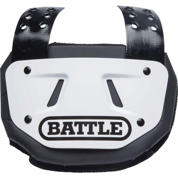 Battle adult football back plate football back plate