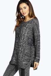 Tilly Textured Cable Knit Jumper from #Boohoo on discounted price. Use promotional Codes and coupon Codes.