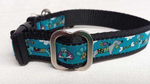 Doggies ribbon dog collar #dogcollar #dog #ribbonsgalore