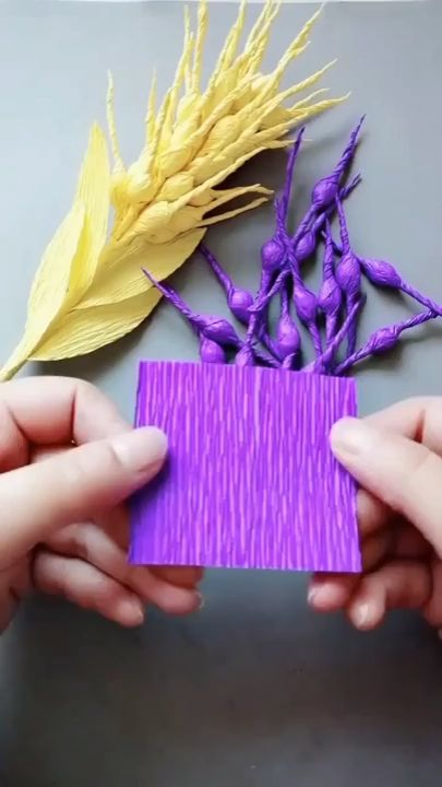 DIY colorful Wheat Ear Flower Crafts for Home Decoration