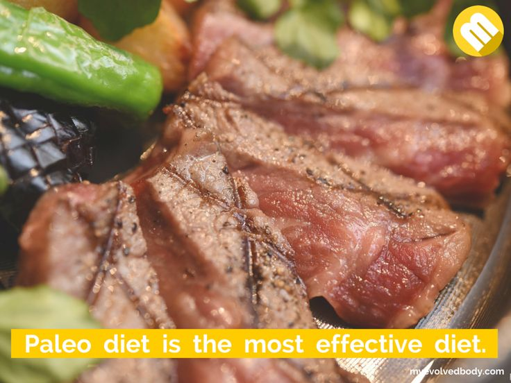 The Paleo diet is the most effective diet because unlike other kinds of diet, it works with a person's genetics in order to help them stay as healthy as possible. It does not just make you sexy