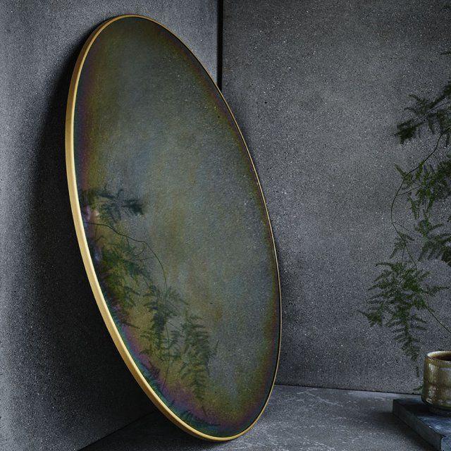 Les 25 meilleures id es concernant miroirs ronds sur for Miroir rond chambre
