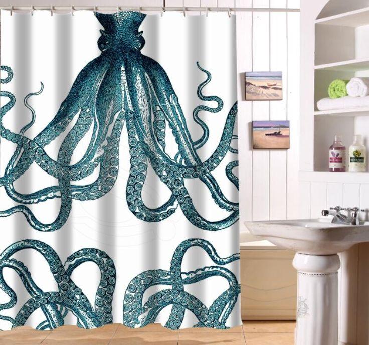 les 25 meilleures images de la cat gorie rideaux de douche de poulpe sur pinterest d cor de. Black Bedroom Furniture Sets. Home Design Ideas