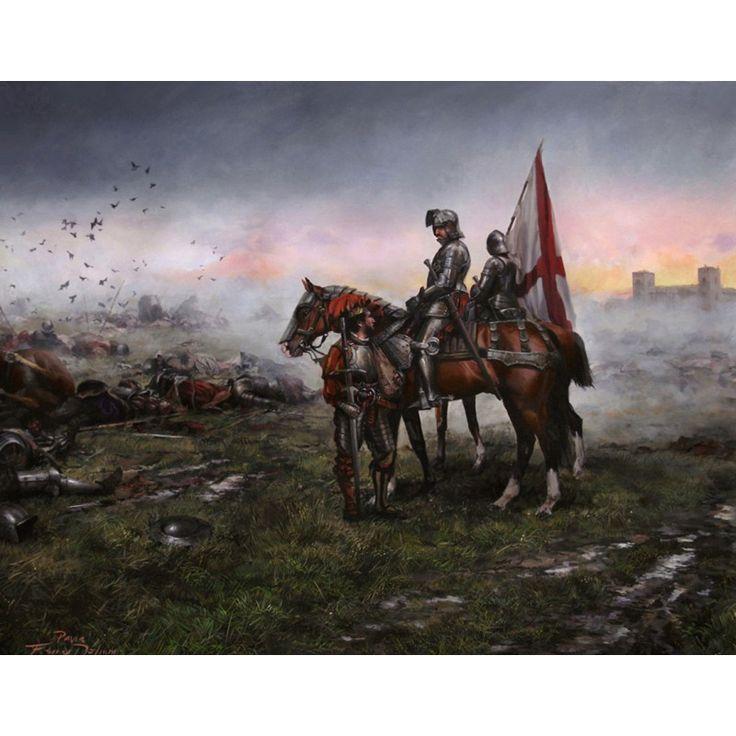 PITA DA VEIGA EN PAVÍA - Pita da Veiga en Pavía, el hombre que capturó a Francisco I rey de Francia. Pintura de Augusto Ferrer Dalmau
