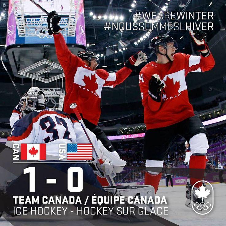 Team Canada Men's Hockey #WeAreWinter