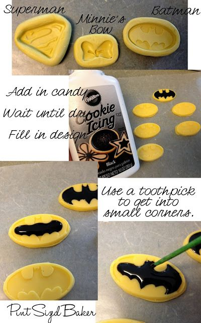 Pint Sized Baker: Super-Hero Cake Pop Molds