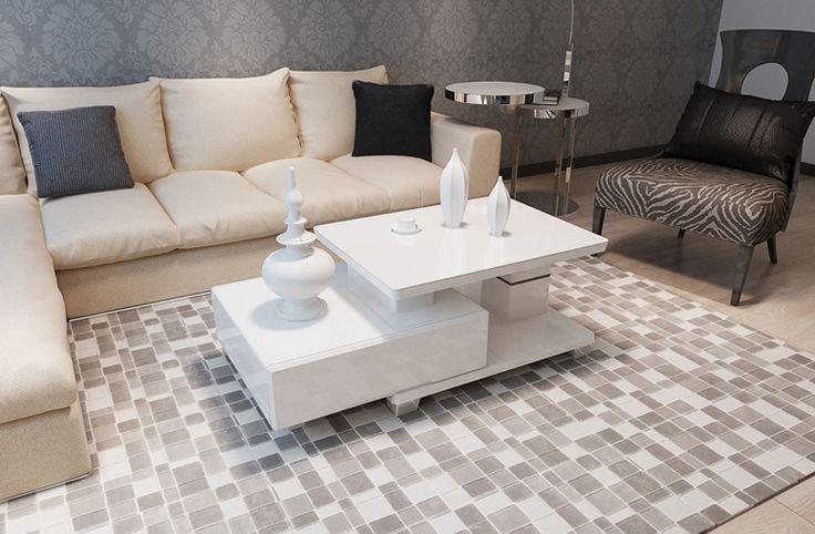 Белый современный стол в интерьере гостиной купить и выбрать другие расцветки в интернет-магазине мебели https://lafred.ru/catalog/catalog/detail/45795413065/
