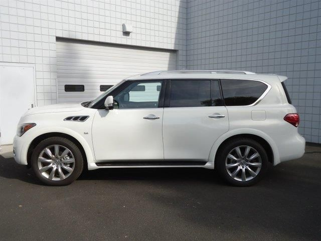 2014 infiniti qx80 base 4x4 4dr suv suv 4 doors white for sale in spokane wa source http www. Black Bedroom Furniture Sets. Home Design Ideas