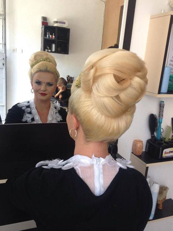 Very Blonde Updo