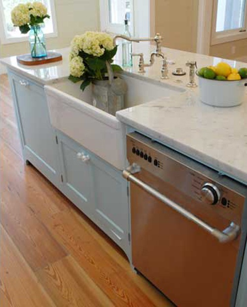 Kitchen Sink Island : like the deep sink and counter area for a mudroom/laundry room?