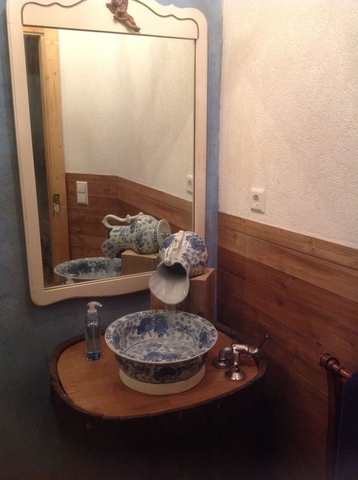 Pitcher And Bowl Sinkwe Did It And Love It Art