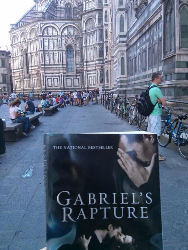 RT @SRFansRomania: #GabrielsRapture in Florence, taken July 2013 @Sylvain Reynard @Argyle_Empire @SRFansUK http://twitter.com/SRFansRomania/status/414034400410488832/photo/1