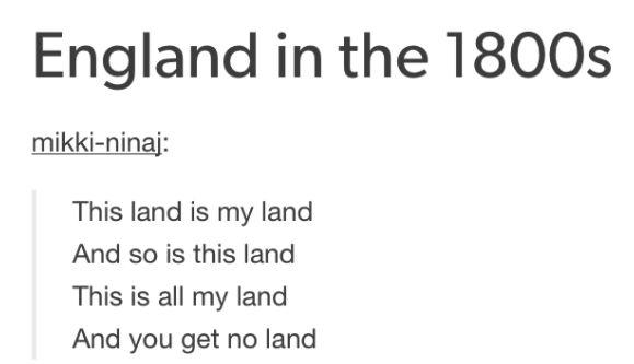 England's national anthem: