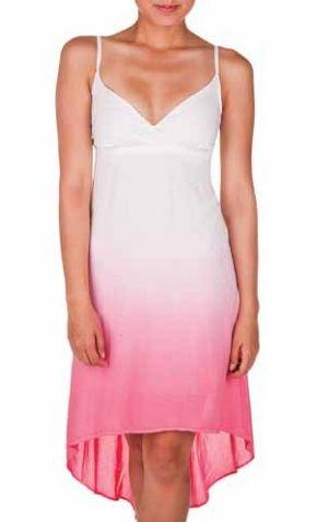 Ombre Hi-Low Dress
