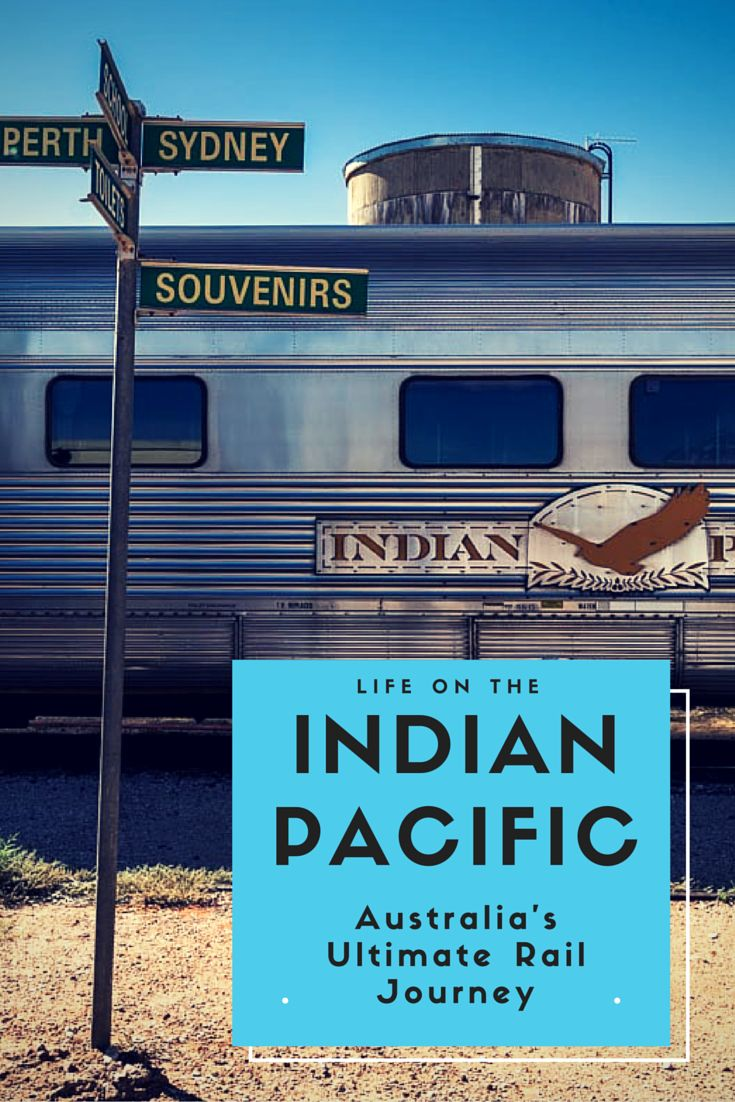 Crossing Australia on the famous Indian Pacific Train is a stunning way to see the heart of Australia. The journey goes from Sydney to Perth. See what it is like to be on the train.  #traintravel #overland #australia